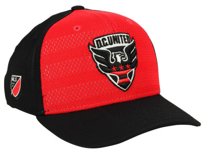DC United adidas MLS Authentic Flex Cap