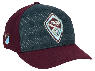 Colorado Rapids adidas MLS Authentic Flex Cap