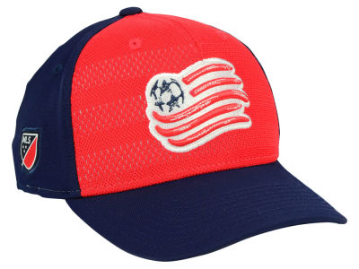 New England Revolution adidas MLS Authentic Flex Cap