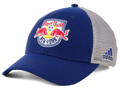 New York Red Bulls adidas MLS Mesh Flex Cap