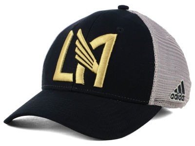 Los Angeles Football Club adidas MLS Mesh Flex Cap