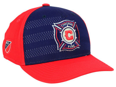 Chicago Fire adidas MLS Authentic Flex Cap