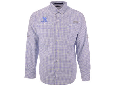 Kentucky Wildcats Columbia NCAA Men's Super Tamiami Long Sleeve Shirt