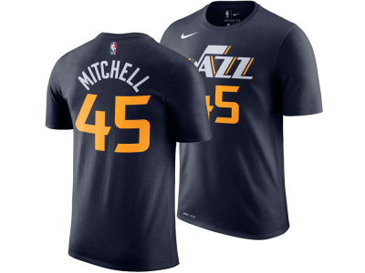 Utah Jazz Donovan Mitchell Nike NBA Men's Icon Player T-shirt
