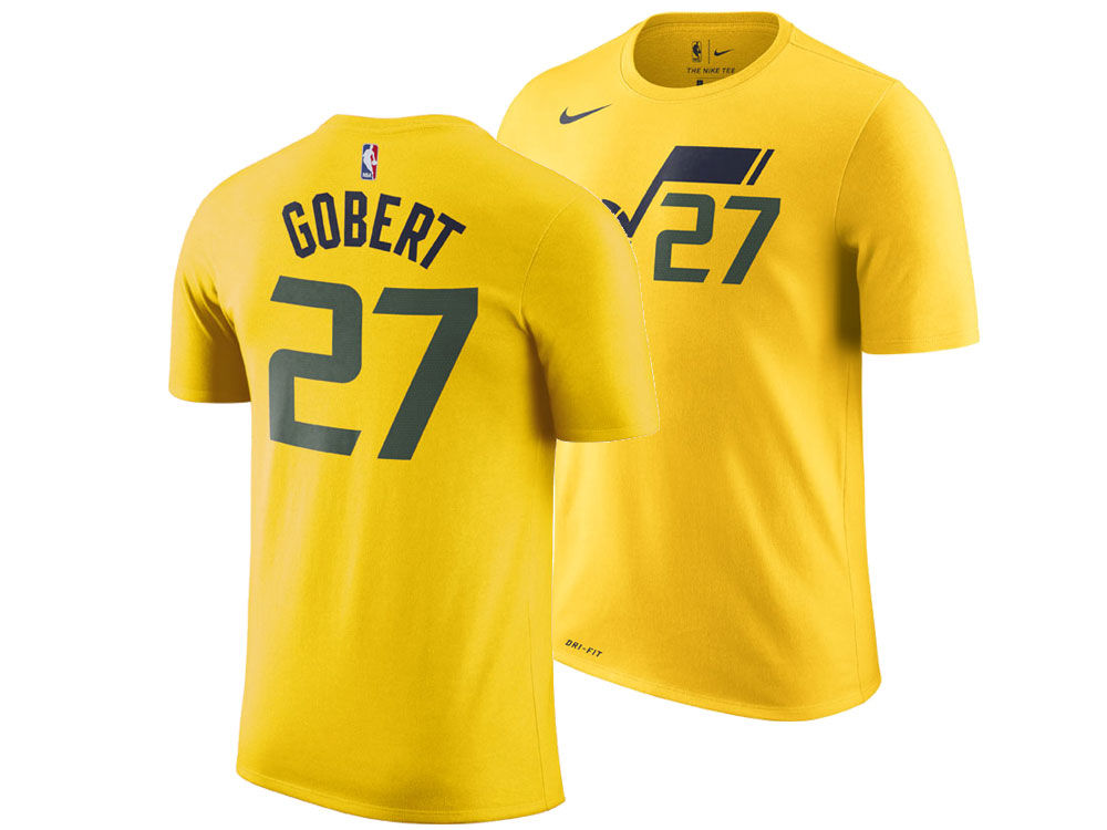 4146a647f1 Utah Jazz Rudy Gobert Nike NBA Men s Statement Player T-shirt