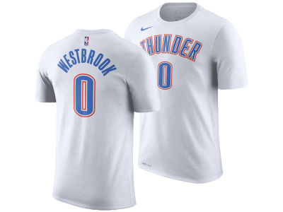 Oklahoma City Thunder Russell Westbrook Nike NBA Men's Association Player T-Shirt