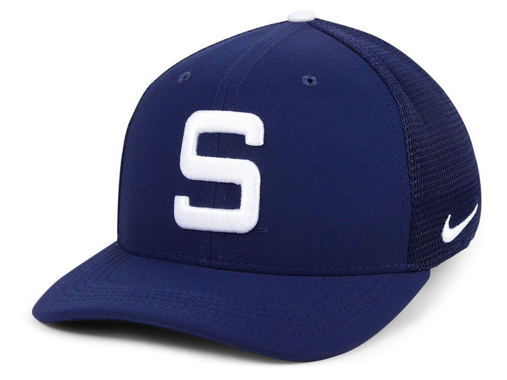 Penn State Nittany Lions Nike NCAA Col Aro Swooshflex Cap  26e4aac9c36