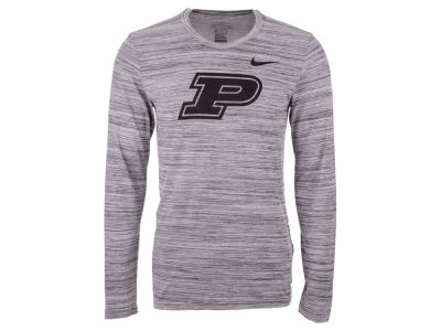 Purdue Boilermakers Nike NCAA Men's Legend Travel Long Sleeve T-Shirt
