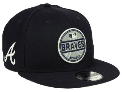 Atlanta Braves New Era MLB Circle Patch Reflective 9FIFTY Snapback Cap