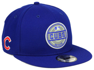 Chicago Cubs New Era MLB Circle Patch Reflective 9FIFTY Snapback Cap