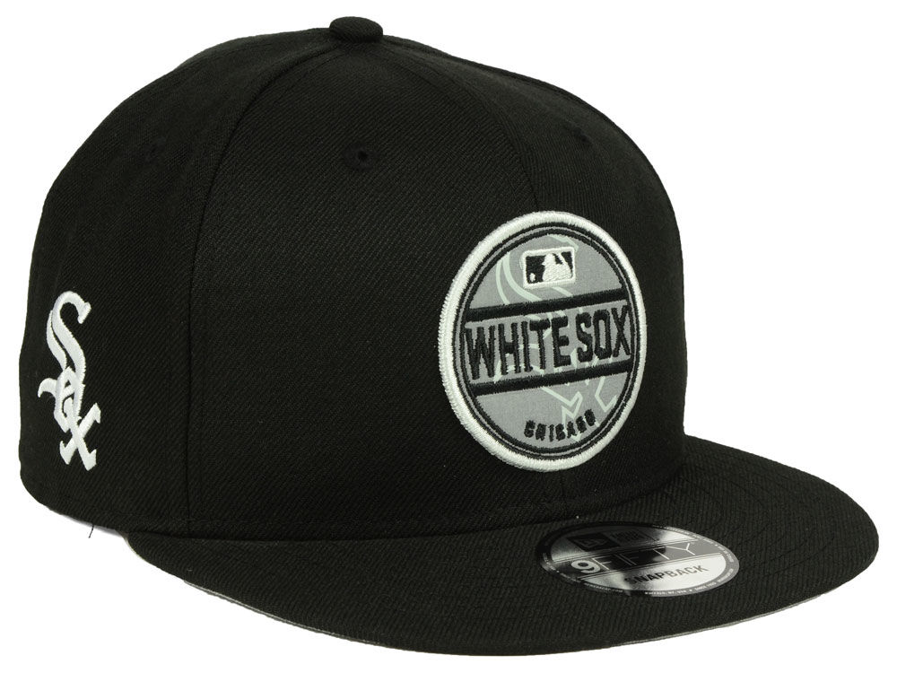 outlet store c4bfd 5cb4d ... denmark chicago white sox new era mlb circle patch reflective 9fifty  snapback cap a1d2f b6732