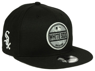 Chicago White Sox New Era MLB Circle Patch Reflective 9FIFTY Snapback Cap