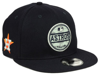 Houston Astros New Era MLB Circle Patch Reflective 9FIFTY Snapback Cap