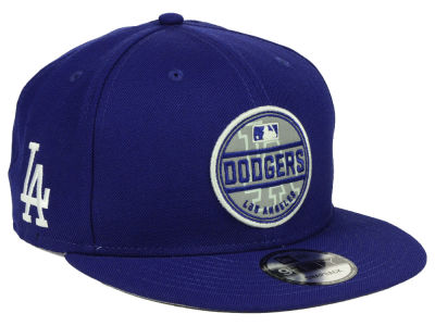 Los Angeles Dodgers New Era MLB Circle Patch Reflective 9FIFTY Snapback Cap