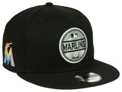 Miami Marlins New Era MLB Circle Patch Reflective 9FIFTY Snapback Cap