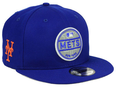 New York Mets New Era MLB Circle Patch Reflective 9FIFTY Snapback Cap