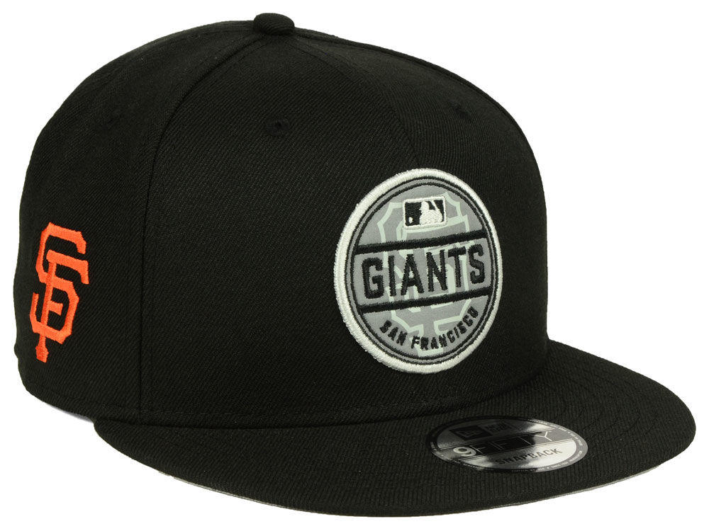 best service 29f94 e3916 ... closeout san francisco giants new era mlb circle patch reflective  9fifty snapback cap 6800f 1127a