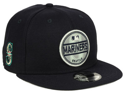 Seattle Mariners New Era MLB Circle Patch Reflective 9FIFTY Snapback Cap