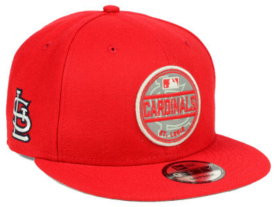 St. Louis Cardinals New Era MLB Circle Patch Reflective 9FIFTY Snapback Cap