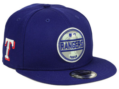 Texas Rangers New Era MLB Circle Patch Reflective 9FIFTY Snapback Cap