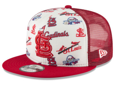 St. Louis Cardinals New Era MLB Hawaiian Trucker 9FIFTY Snapback Cap