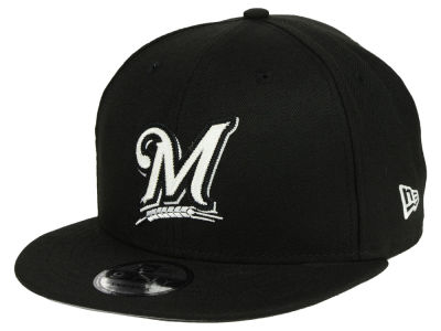 Milwaukee Brewers New Era MLB Jersey Hook 9FIFTY Snapback Cap