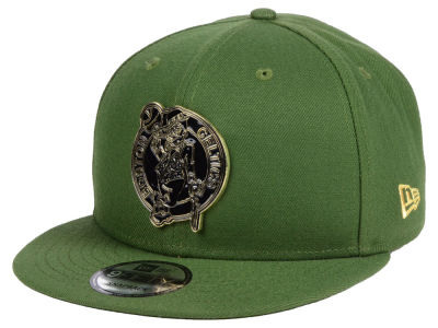 Boston Celtics New Era NBA Enamel Badge 9FIFTY Snapback Cap