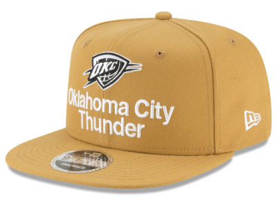 Oklahoma City Thunder New Era NBA Retro Basic 9FIFTY Snapback Cap