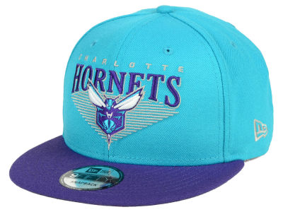 Charlotte Hornets New Era NBA Retro Triangle 9FIFTY Snapback Cap