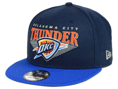 Oklahoma City Thunder New Era NBA Retro Triangle 9FIFTY Snapback Cap