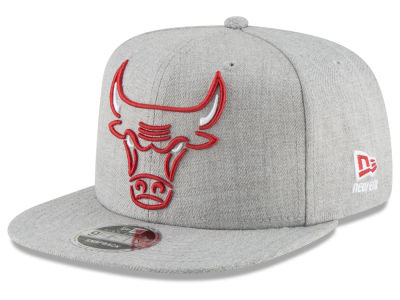 Chicago Bulls New Era NBA Logo Trace 9FIFTY Snapback Cap
