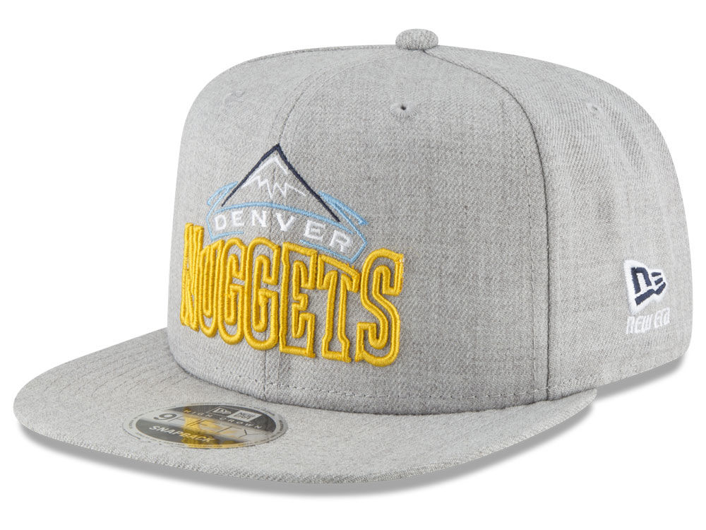 new product 61223 11f20 purchase denver nuggets new era nba logo trace 9fifty snapback cap 931ff  58b54