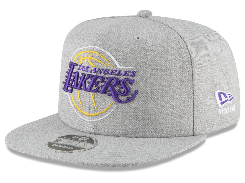 Los Angeles Lakers New Era NBA Logo Trace 9FIFTY Snapback Cap  8eadacdaa342