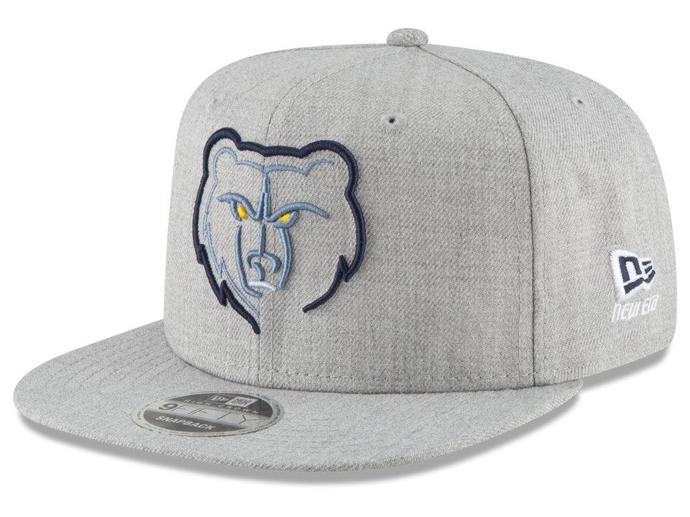 Memphis Grizzlies New Era NBA Logo Trace 9FIFTY Snapback Cap  a8e5009d3a0
