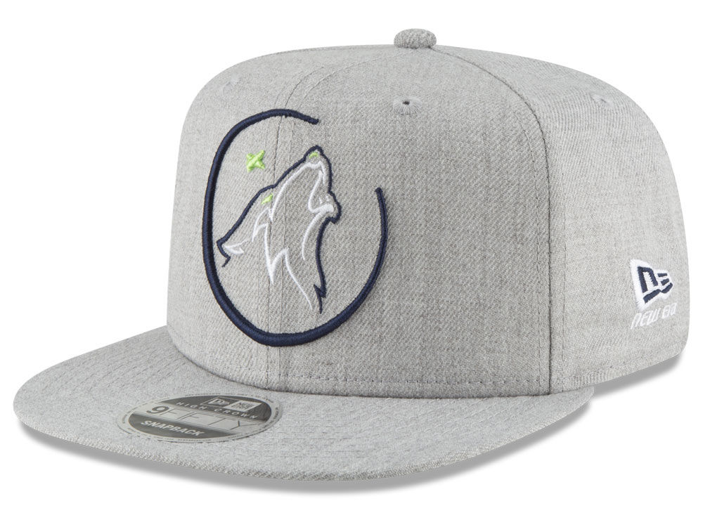 sports shoes 8a192 649a2 ... italy minnesota timberwolves new era nba logo trace 9fifty snapback cap  lids d5737 e8dec