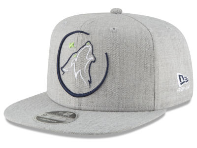 Minnesota Timberwolves New Era NBA Logo Trace 9FIFTY Snapback Cap