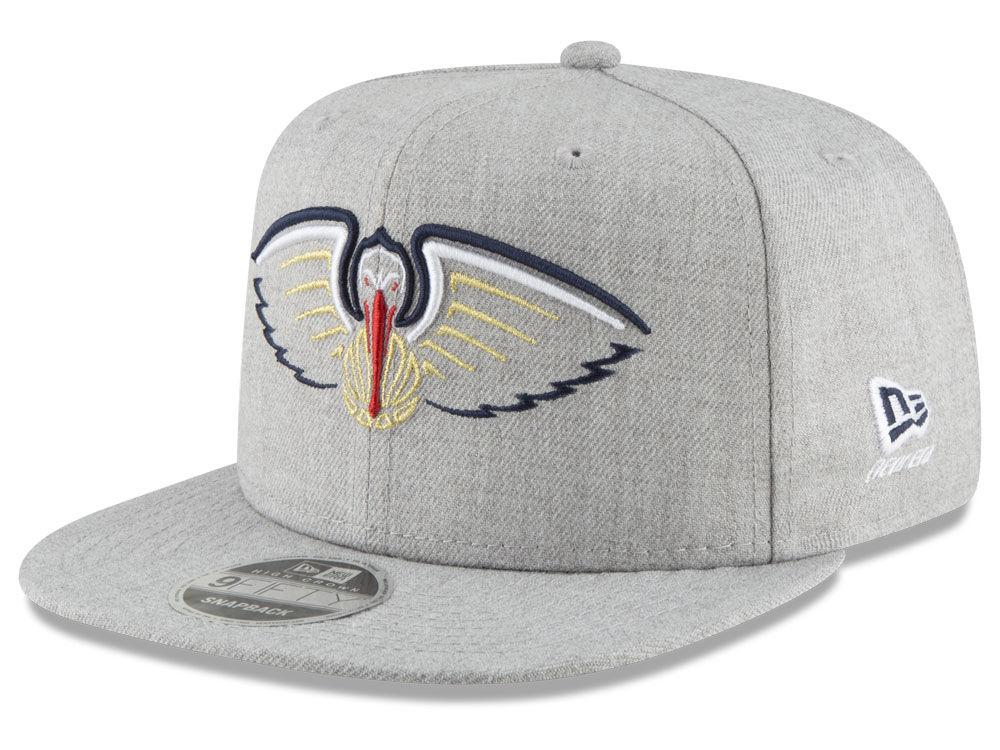 ed47ccc3133cdf reduced new orleans pelicans new era nba logo trace 9fifty snapback cap  0d072 d5a9c