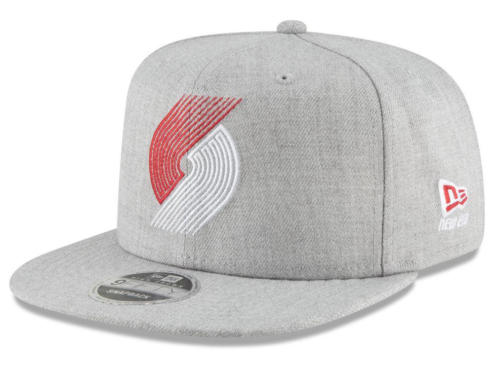 cheaper c3700 18fa8 ... get portland trail blazers new era nba logo trace 9fifty snapback cap  lids 4207e da3aa
