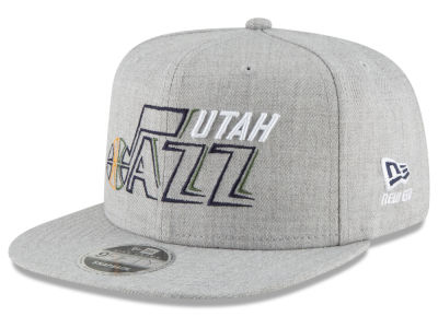 Utah Jazz New Era NBA Logo Trace 9FIFTY Snapback Cap