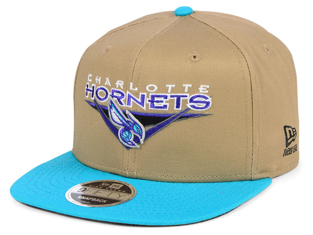bb18c9b014b Charlotte Hornets New Era NBA Jack Knife 9FIFTY Snapback Cap