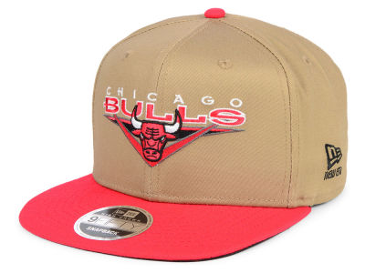 Chicago Bulls New Era NBA Jack Knife 9FIFTY Snapback Cap