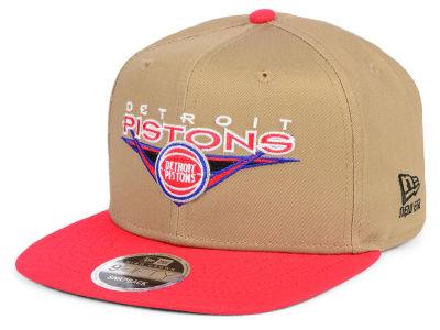 Detroit Pistons New Era NBA Jack Knife 9FIFTY Snapback Cap