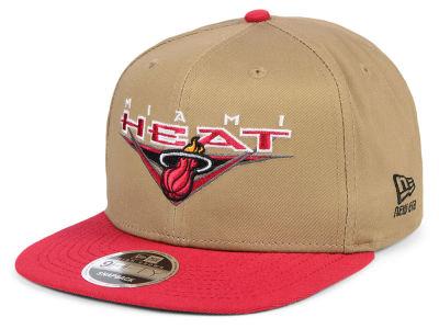 Miami Heat New Era NBA Jack Knife 9FIFTY Snapback Cap