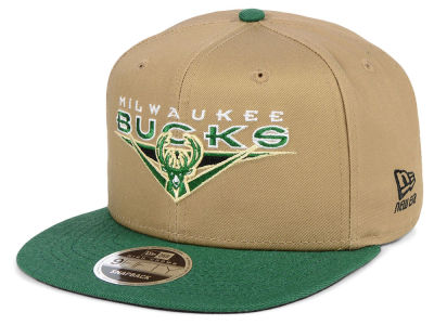 Milwaukee Bucks New Era NBA Jack Knife 9FIFTY Snapback Cap