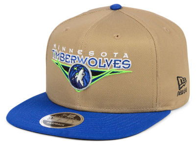 Minnesota Timberwolves New Era NBA Jack Knife 9FIFTY Snapback Cap