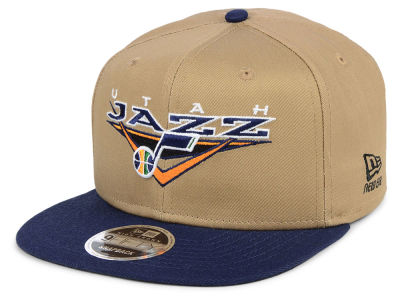 Utah Jazz New Era NBA Jack Knife 9FIFTY Snapback Cap
