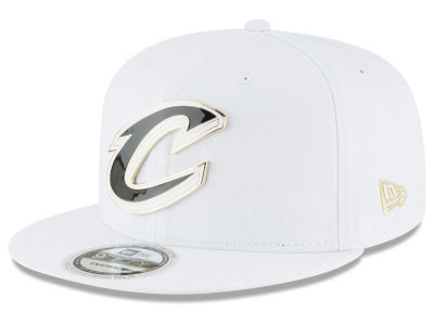 Cleveland Cavaliers New Era NBA White Enamel 9FIFTY Snapback Cap