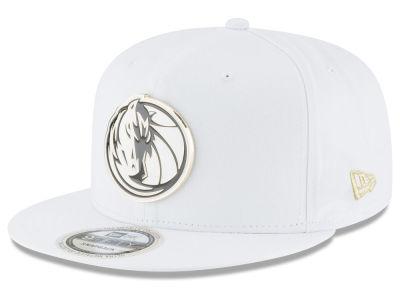 info for 60717 b2d9f ... ebay dallas mavericks new era nba white enamel 9fifty snapback cap  4adb0 eda83