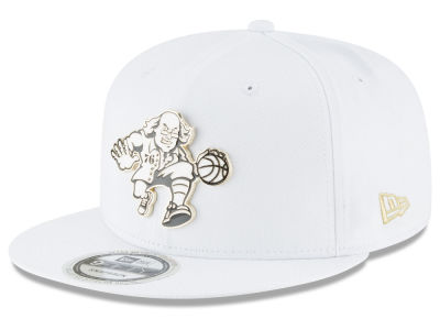 Philadelphia 76ers New Era NBA White Enamel 9FIFTY Snapback Cap
