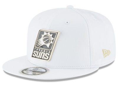 Phoenix Suns New Era NBA White Enamel 9FIFTY Snapback Cap
